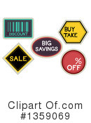 Sale Clipart #1359069 by BNP Design Studio