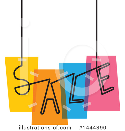Sales Clipart #1444890 by ColorMagic