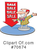 Royalty-Free (RF) Sale Clipart Illustration #70674