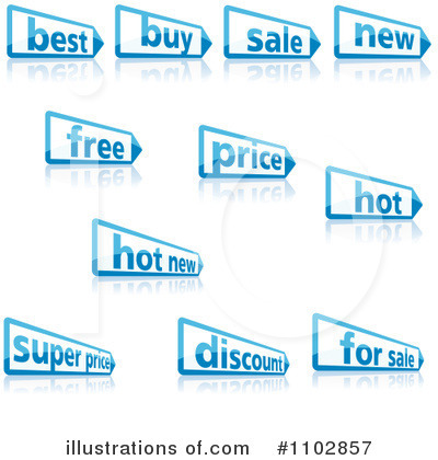 Sales Clipart #1102857 by dero