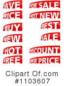 Royalty-Free (RF) Sales Clipart Illustration #1103607