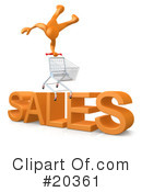 Sales Clipart #20361 by 3poD
