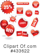 Royalty-Free (RF) Sales Clipart Illustration #433622