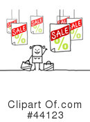 Royalty-Free (RF) Sales Clipart Illustration #44123