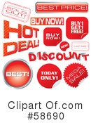Sales Clipart #58690 by MilsiArt