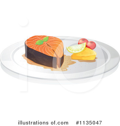 Tuna Clipart #1135047 by Graphics RF
