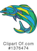 Salmon Clipart #1376474 by patrimonio