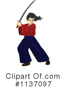 Samurai Clipart #1137097 by Graphics RF