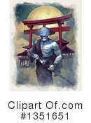 Samurai Clipart #1351651 by Tonis Pan