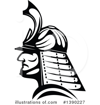 Warrior Clipart #1390227 by Vector Tradition SM