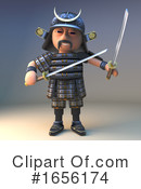 Samurai Clipart #1656174 by Steve Young