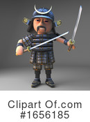 Samurai Clipart #1656185 by Steve Young