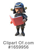Samurai Clipart #1659956 by Steve Young
