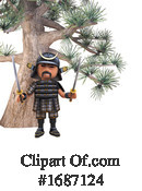 Samurai Clipart #1687124 by Steve Young