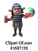 Samurai Clipart #1687126 by Steve Young
