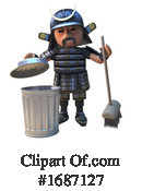 Samurai Clipart #1687127 by Steve Young