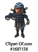 Samurai Clipart #1687128 by Steve Young