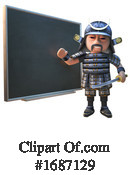Samurai Clipart #1687129 by Steve Young
