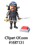 Samurai Clipart #1687131 by Steve Young