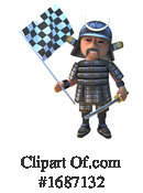 Samurai Clipart #1687132 by Steve Young