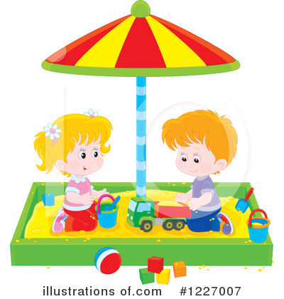 Playground Clipart #1227007 by Alex Bannykh