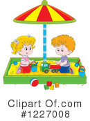 Sand Box Clipart #1227008 by Alex Bannykh