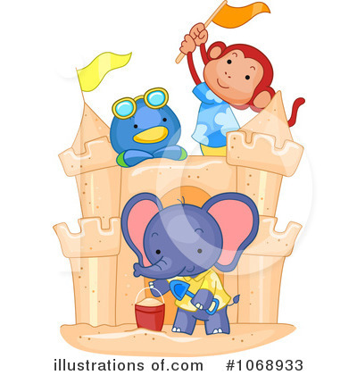 Elephant Clipart #1068933 by BNP Design Studio