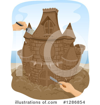 Castle Clipart #1286854 by BNP Design Studio