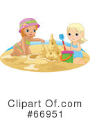 Sand Castle Clipart #66951 by Pushkin