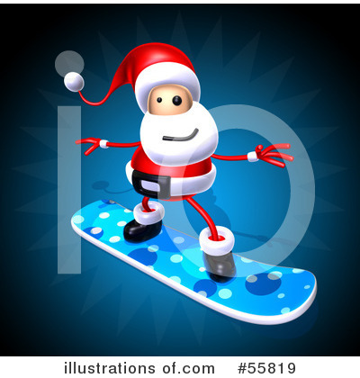 Snowboarding Clipart #55819 by Julos