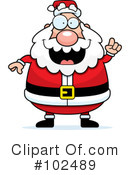 Royalty-Free (RF) Santa Clipart Illustration #102489