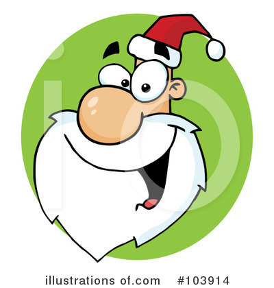Santa Clipart #103914 by Hit Toon