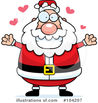 Santa Clipart #104207 by Cory Thoman
