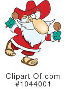 Santa Clipart #1044001 by toonaday