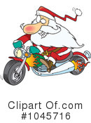 Royalty-Free (RF) Santa Clipart Illustration #1045716