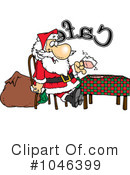 Royalty-Free (RF) Santa Clipart Illustration #1046399