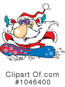 Santa Clipart #1046400 by toonaday