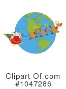 Santa Clipart #1047286 by Hit Toon
