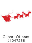 Santa Clipart #1047288 by Hit Toon