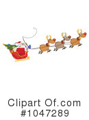 Santa Clipart #1047289 by Hit Toon
