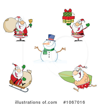 Snowman Clipart #1067016 by Hit Toon