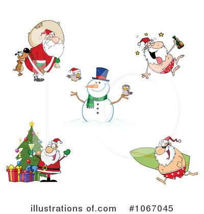 Snowman Clipart #1067045 by Hit Toon