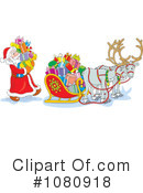 Royalty-Free (RF) Santa Clipart Illustration #1080918
