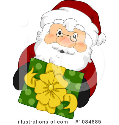 Santa Clipart #1084885 by BNP Design Studio
