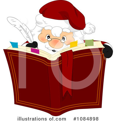 Santa Clipart #1084898 by BNP Design Studio