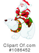 Royalty-Free (RF) Santa Clipart Illustration #1086452