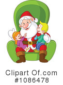 Royalty-Free (RF) Santa Clipart Illustration #1086478