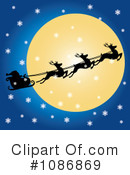 Royalty-Free (RF) santa Clipart Illustration #1086869