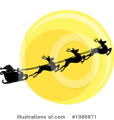 Royalty-Free (RF) Santa Clipart Illustration by Pams Clipart - Stock Sample #1086871