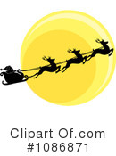 Royalty-Free (RF) Santa Clipart Illustration #1086871